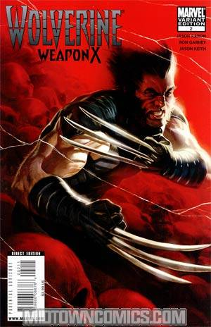 Wolverine Weapon X #2 Cover B Marko Djurdjevic Cover
