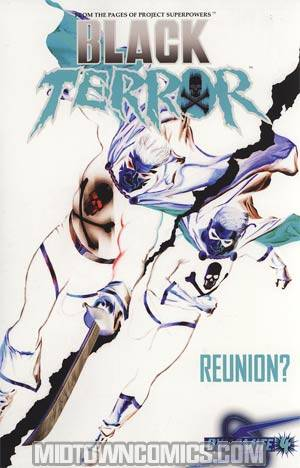 Black Terror Vol 3 #4 Incentive Alex Ross Negative Cover
