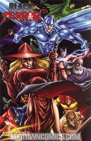 Black Terror Vol 3 #4 Regular Mike Lilly Masquerade Cover