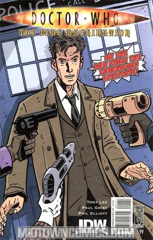 Doctor Who Time Machination Cover A Regular Paul Grist Cover