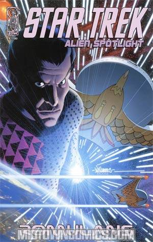 Star Trek Aliens Spotlight Romulans David Williams Cover