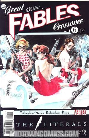 Literals #2 (Great Fables Crossover Part 6)
