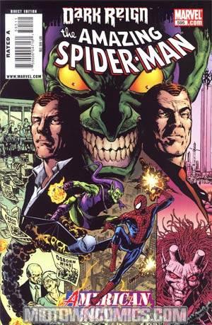 Amazing Spider-Man Vol 2 #595 Cover A Regular Phil Jimenez Cover (Dark Reign Tie-In)