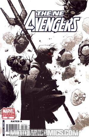 New Avengers #53 Cover B Incentive Chris Bachalo Variant Cover (Dark Reign Tie-In)