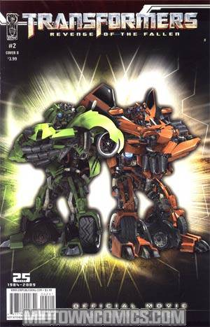 Transformers Revenge Of The Fallen Movie Adaptation #2 Photo Cover