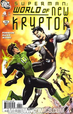 Superman World Of New Krypton #4 Regular Gary Frank Cover