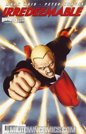 Irredeemable #3 Regular Cover A