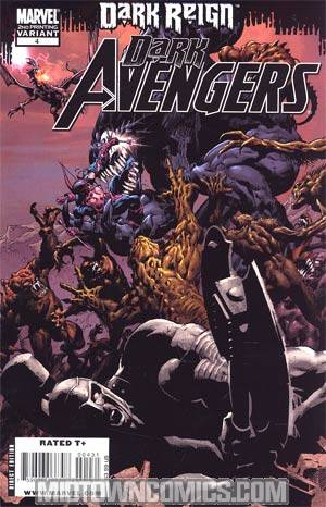 Dark Avengers #4 Cover C 2nd Ptg Mike Deodato Jr Variant Cover (Dark Reign Tie-In)