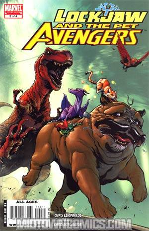 Lockjaw And The Pet Avengers #2 Regular Karl Kerschl Cover