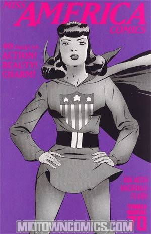 Miss America Comics #1 70th Anniversary Special Incentive Marcos Martin Variant Cover