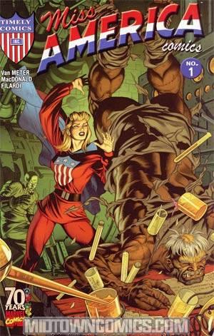Miss America Comics #1 70th Anniversary Special Regular Dale Eaglesham Cover