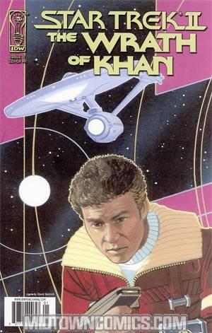 Star Trek II The Wrath Of Khan #1 Incentive David Deitrick Variant Cover