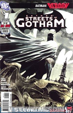 Batman Streets Of Gotham #1 Cover A Regular Dustin Nguyen Cover