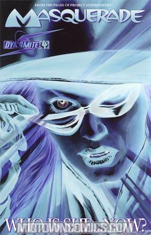 Masquerade #4 Incentive Alex Ross Negative Variant Cover