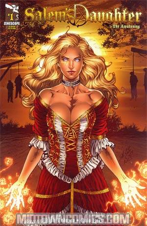 Salems Daughter #1 Incentive Al Rio Variant Cover