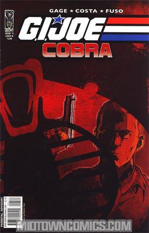 GI Joe Cobra #4 Regular Cover B