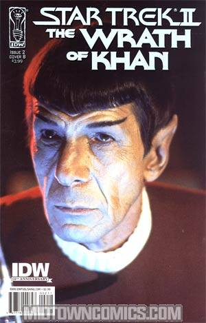 Star Trek II The Wrath Of Khan #2 Regular Cover B
