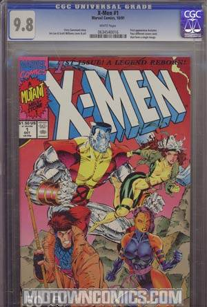 X-Men Vol 2 #1 Cover I Colossus CGC 9.8