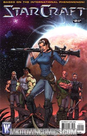 Starcraft #2 Incentive Shawn Moll Variant Cover