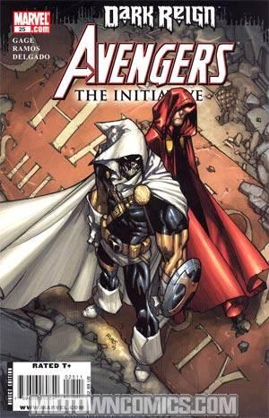 Avengers The Initiative #25 (Dark Reign Tie-In)