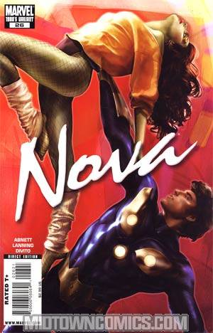 Nova Vol 4 #26 Cover B Incentive 80s Decade Variant Cover (War Of Kings Tie-In)