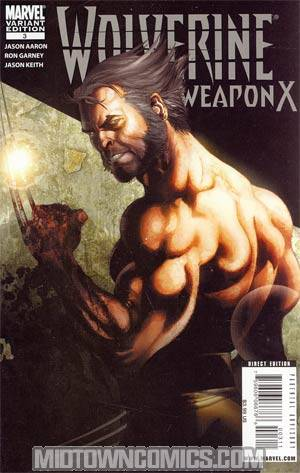 Wolverine Weapon X #3 Cover B Salvador Larroca Cover