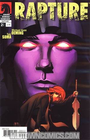 Rapture (Dark Horse) #2 Regular Taki Soma Cover