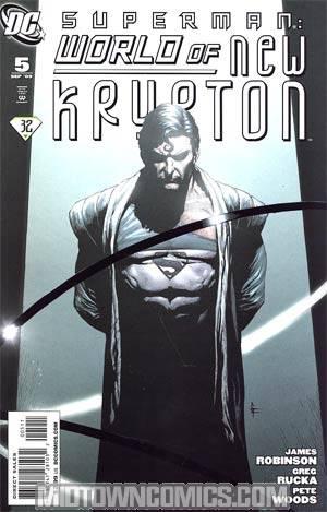 Superman World Of New Krypton #5 Regular Gary Frank Cover