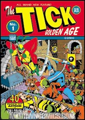 Ticks Golden Age Comic #1 Marvelously Entertaining Cover
