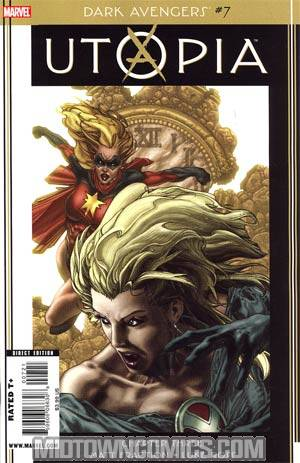Dark Avengers #7 Cover B Incentive Simone Bianchi Variant Cover (Utopia Part 3)
