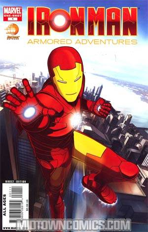 Iron Man Armored Adventures Regular Cover