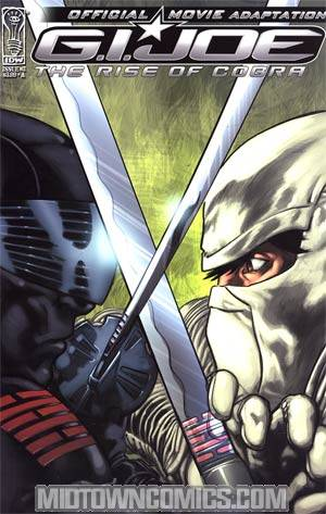 GI Joe Rise Of Cobra Movie Adaptation #3 Casey Maloney Cover