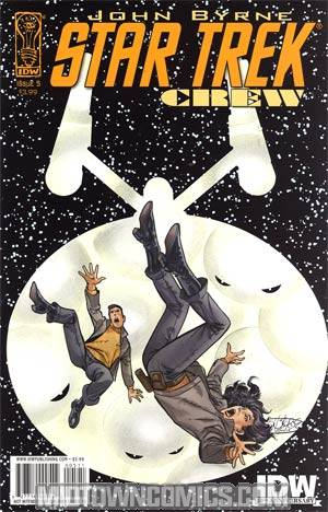 Star Trek Crew #5 Regular John Byrne Cover