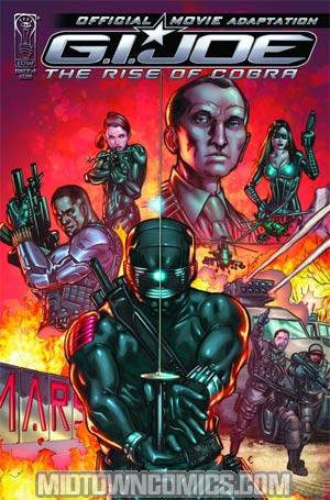 GI Joe Rise Of Cobra Movie Adaptation TP