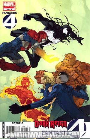Dark Reign Fantastic Four #5