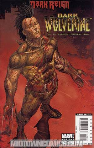 Dark Wolverine #76 Cover B Incentive Mike Choi Young Guns Variant Cover (Dark Reign Tie-In)
