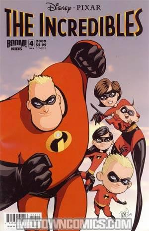 Disney Pixars Incredibles Family Matters #4 Cover B