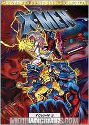 Marvel Comic Book Collection X-Men Vol 3 DVD