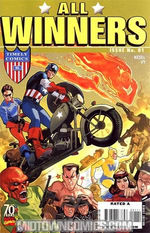 All Winners Comics #1 Cover C 70th Anniversary Special Regular Daniel Acuna Cover