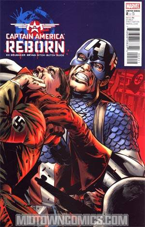 Captain America Reborn #2 Regular Bryan Hitch Cover