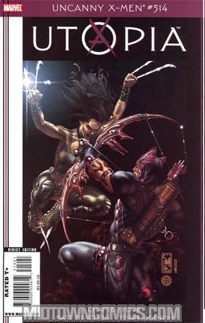 Uncanny X-Men #514 Cover C Incentive Simone Bianchi Variant Cover (Utopia Part 4)
