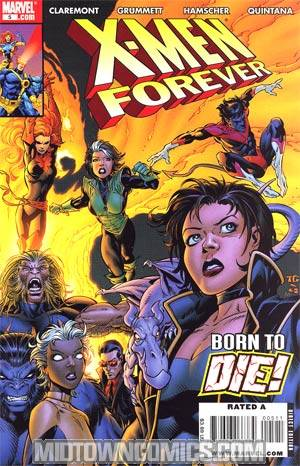 X-Men Forever #5 Cover A Regular Tom Grummett Cover