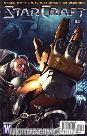 Starcraft #3 Regular Federico Dallocchio Cover
