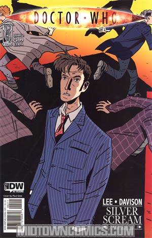 Doctor Who Vol 3 #2 Cover A Regular Paul Grist Cover