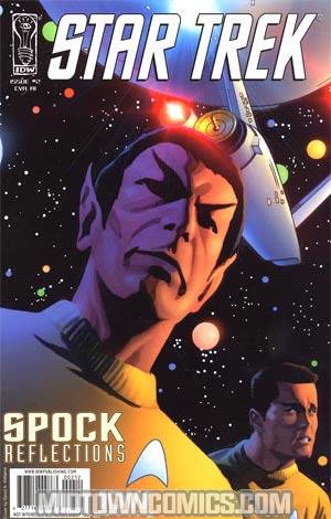 Star Trek Spock Reflections #2 Incentive David Williams Variant Cover