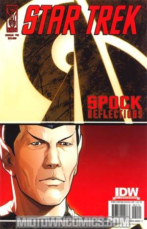 Star Trek Spock Reflections #2 Regular David Messina Cover