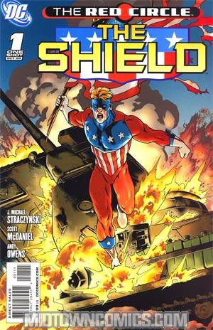 Red Circle The Shield #1