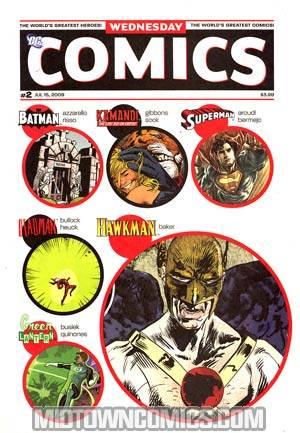 Wednesday Comics #2 2nd Ptg
