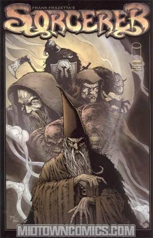 Frank Frazettas Sorcerer Cover B Josh Medors