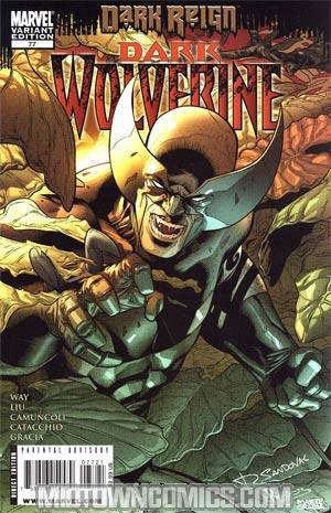 Dark Wolverine #77 Cover B Incentive Young Guns Rafa Sandoval Variant Cover (Dark Reign Tie-In)